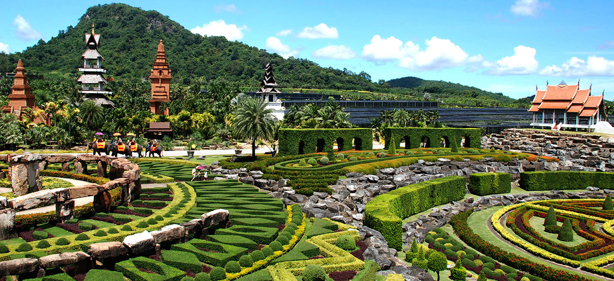 Cultural Theme Park in Nong Nooch Village