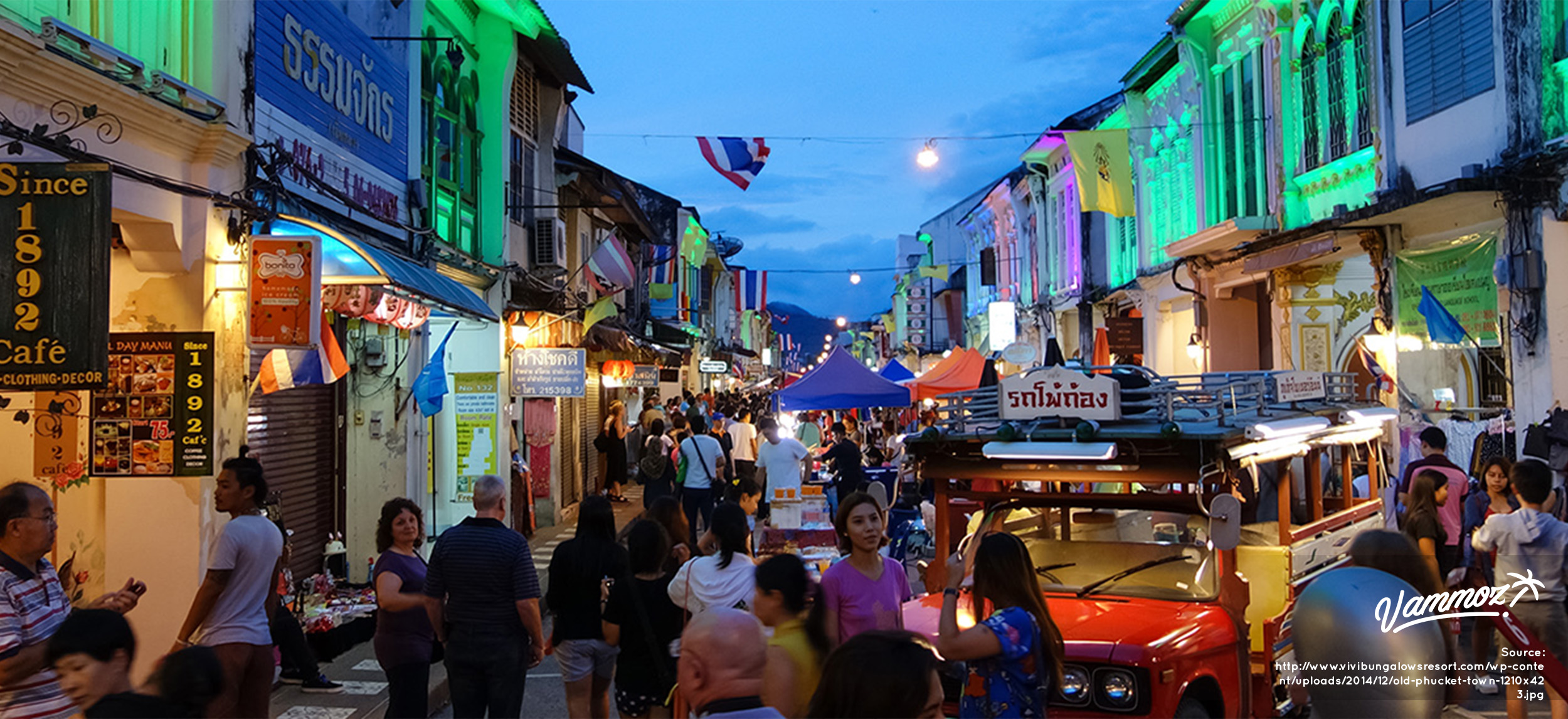 Old Town Phuket, Arsitektur Khas Bergaya Sino Portugues