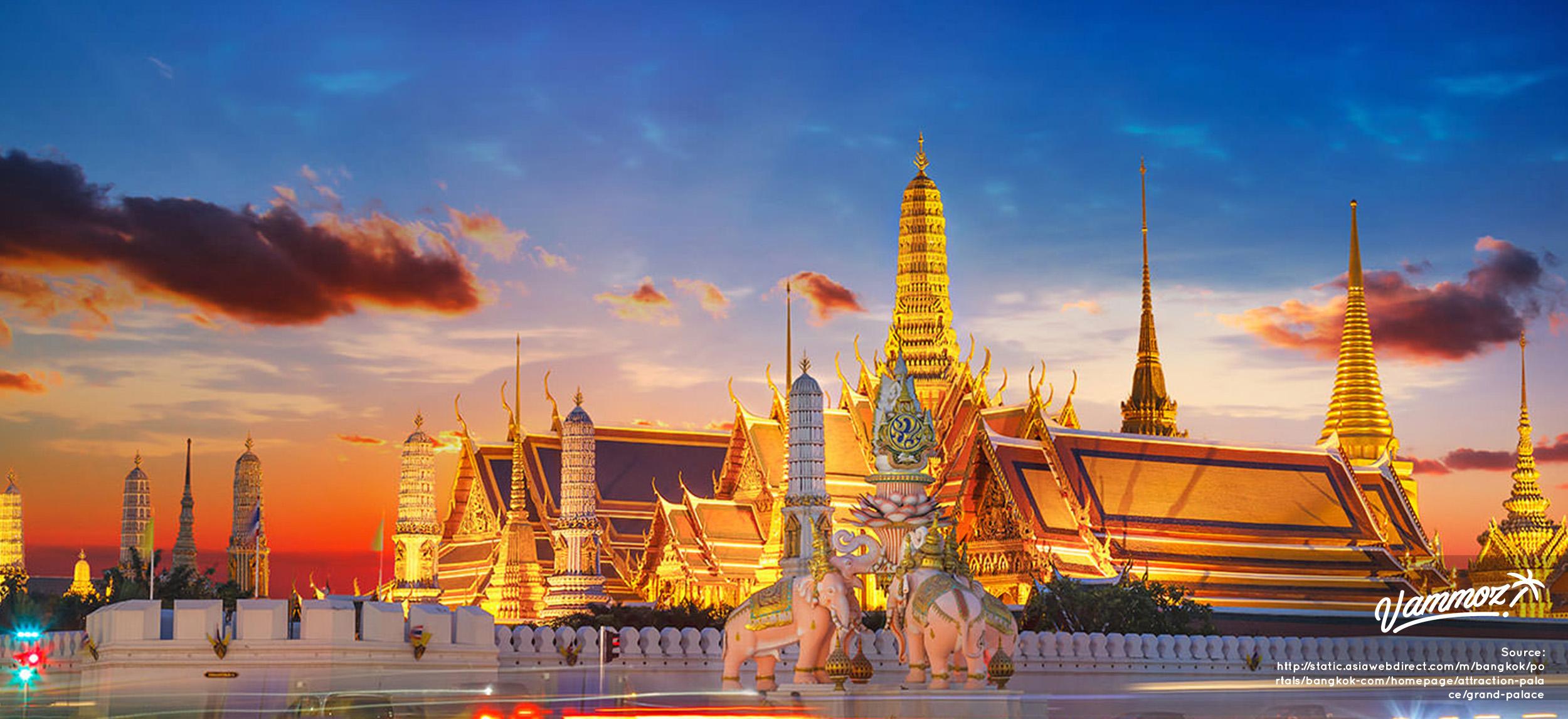Jantung kota Bangkok : Grand Palace
